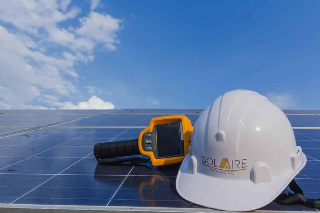 Les panneaux solaires et l'environnement.